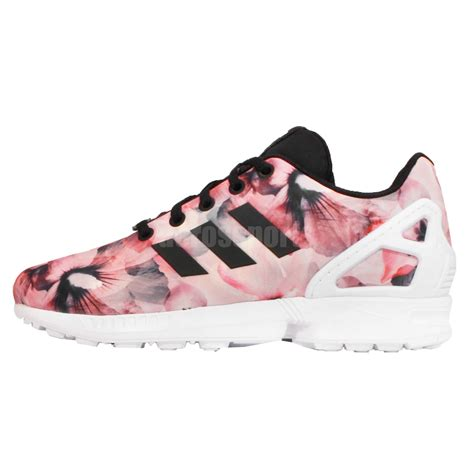 adidas floral shoes adidas originals zx flux k floral pink youth