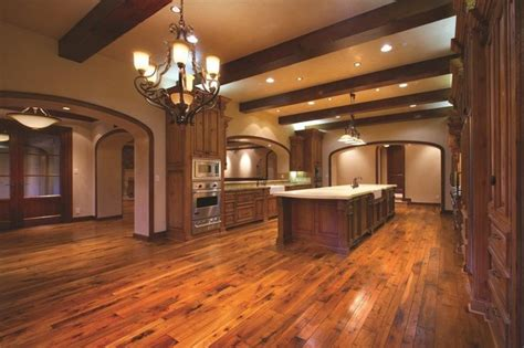 tuscan style flooring tuscan walnut plank traditional kitchen orange