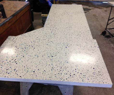 Diy Recycled Glass Concrete Countertops by Diy Concrete Countertops