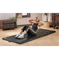 Everlast Folding Exercise Mat by Everlast 174 3 X 8 Folding Exercise Mat Black 90652 At