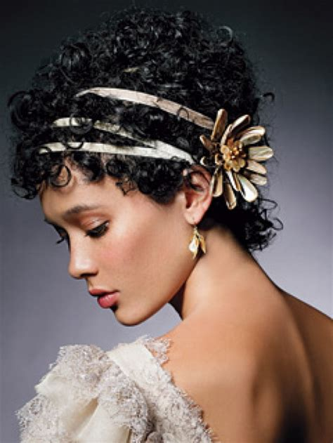 bridal hairstyles curly hair short curly wedding hairstyles