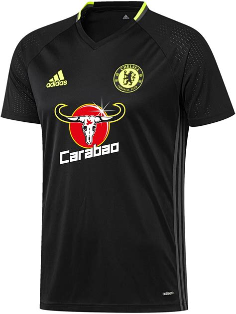 Chelsea Black Shirt chelsea 16 17 kits released footy headlines