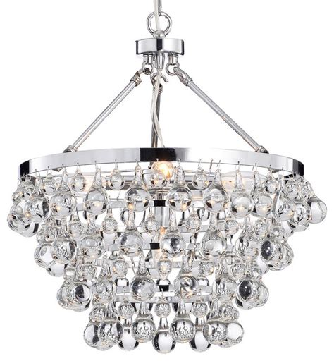 chandelier pendant light glass 5 light luxury chandelier chrome