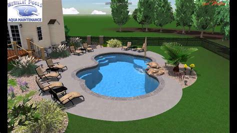 Farmhouse Layout Pool Studio 3d Swimming Pool Design Buchanan 2012 Youtube