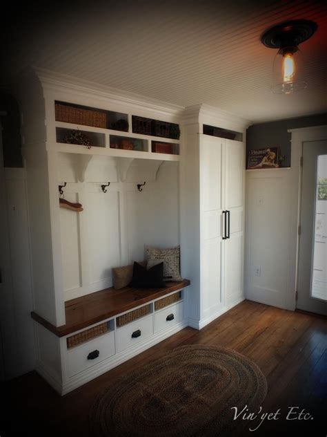 mud roompantry combo bottom drawers wold  cubbies