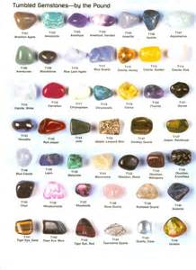 tumbled and polished stones and crystals u2013 great