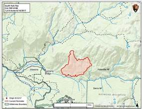 updates on south fork in yosemite national park for