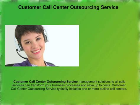 consumer services phone calls ppt best call center customer service tips for your
