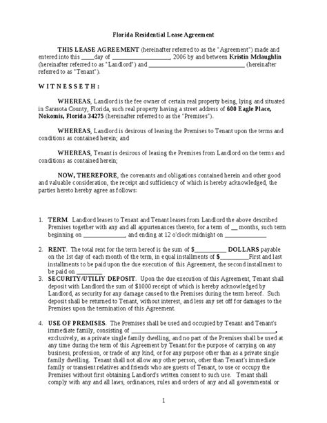 lease agreement florida template florida residential lease agreement hashdoc