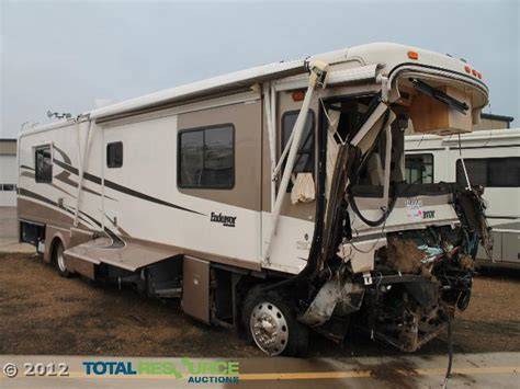 boat and rv superstore 2003 holiday endeavor diesel salvage motorhome used