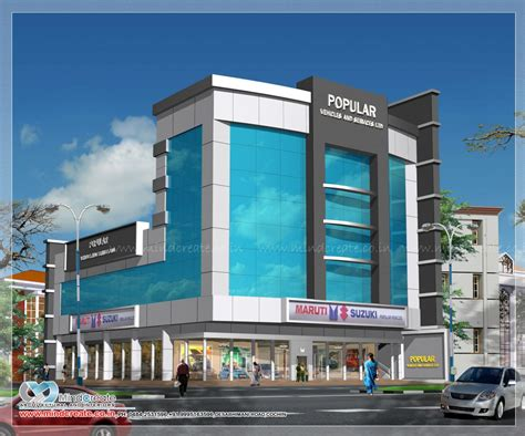 commercial house plans designs commercial building plans kerala model home plans