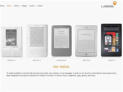amazon vision here s amazon s vision for the kindle in 45 words