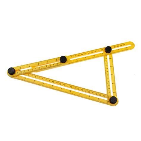 multifunctional four folding ruler plastic metric scale