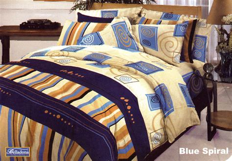 Termurah Sprei Romeo Ukuran 180 X 200 King No 1 Manches harga bed cover belladona blue spiral 180 king termurah