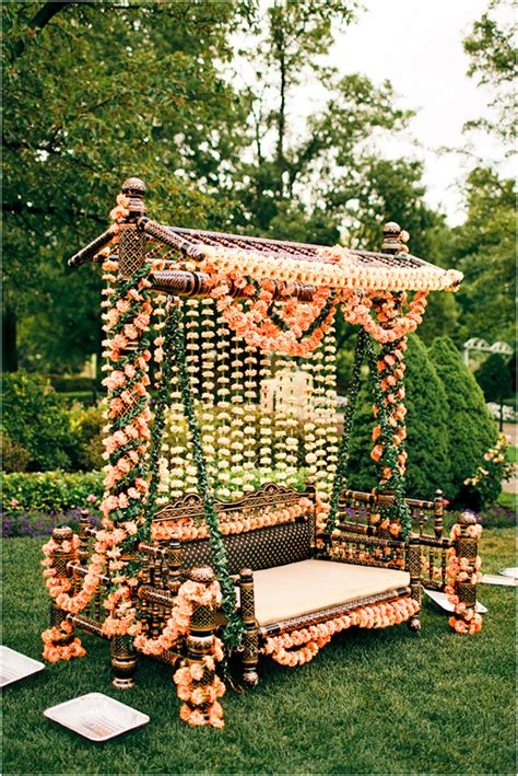 indian wedding swing simple ways to spruce up your wedding decor metro
