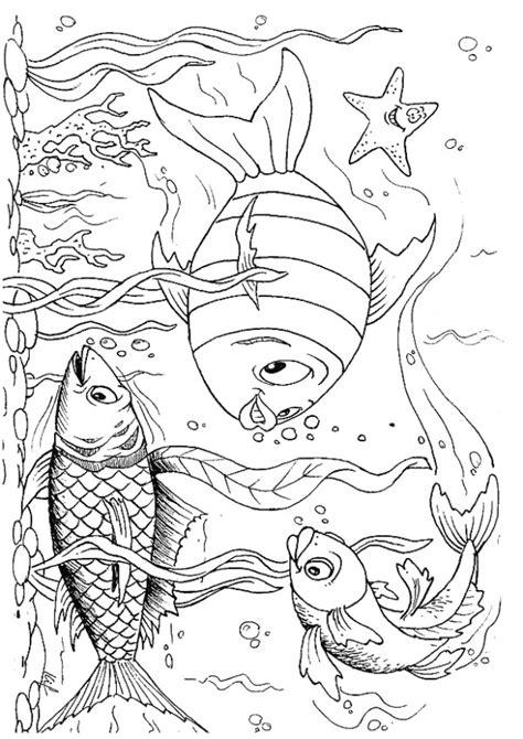 coloring pages kid n fun kids n fun com coloring page fish fish