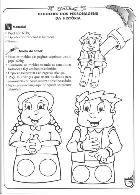 EducAção - Blog Professora Rossana: João e Maria