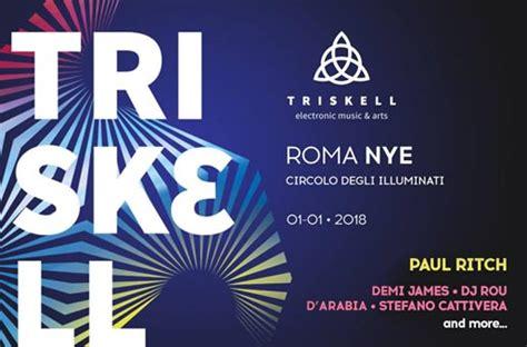 circolo degli illuminati programma capodanno circolo degli illuminati roma 2018 feste