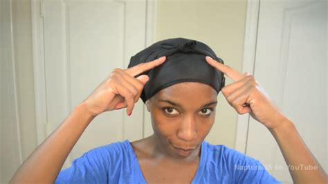 Scarf Black Hairstyles For Hair by How To Secure Satin Scarves For Hair With Pictures
