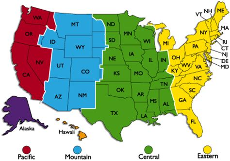 usa time zone converter map cimot go here to see my time zone
