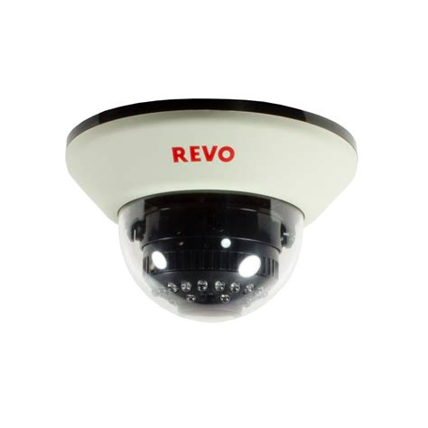 revo 1200 tvl indoor dome surveillance with 100 ft