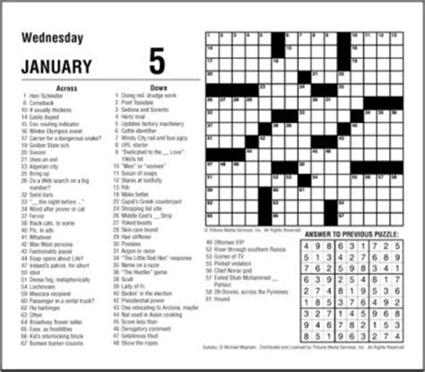 printable version of la times crossword the los angeles times crossword puzzle