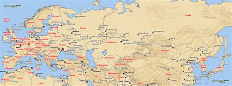 map of europe asia map of europe asia roundtripticket me