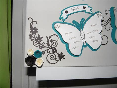 plan de table papillon plan de table pour mariage lilo scrap