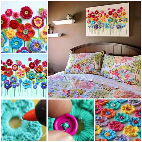 Handmade Craft Tutorials - 23 easy to make and extremely creative button crafts tutorials