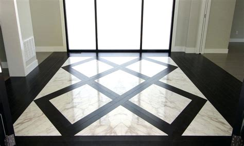 foyer tile design foyer tile design hexagon floor tiles mix between wood