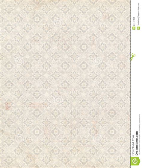 shabby chic antique floral wallpaper background stock