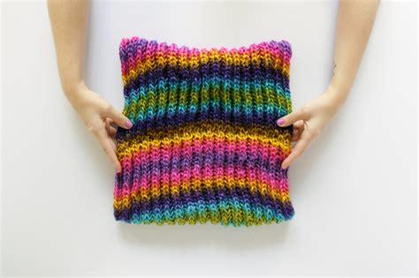 Landscape Yarn Patterns Brioche Knitting A Brioche Cowl Pattern