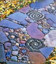 How to make diy mosaic garden stepping stones pictures to pin on