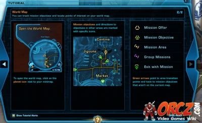Tutorial Old Republic | swtor tutorial world map orcz com the video games wiki