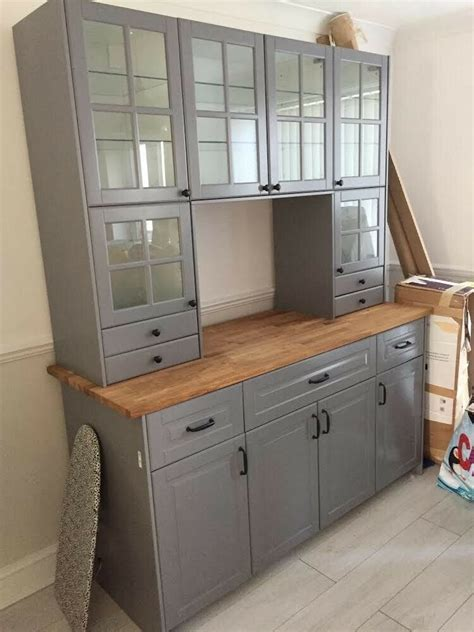 ikea metod kitchen unit  southsea hampshire gumtree