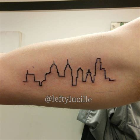 skyline tattoos pin by kate callahan on silhouette