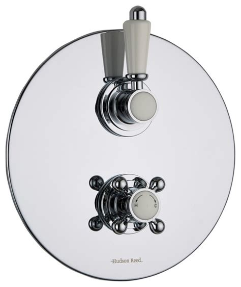 Shower Faucet Trim Plate by Traditional Chrome 1 Outlet Shower Faucet Mixer Valve With Trim Plate Traditional