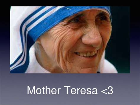 biography of mother teresa ppt presentation