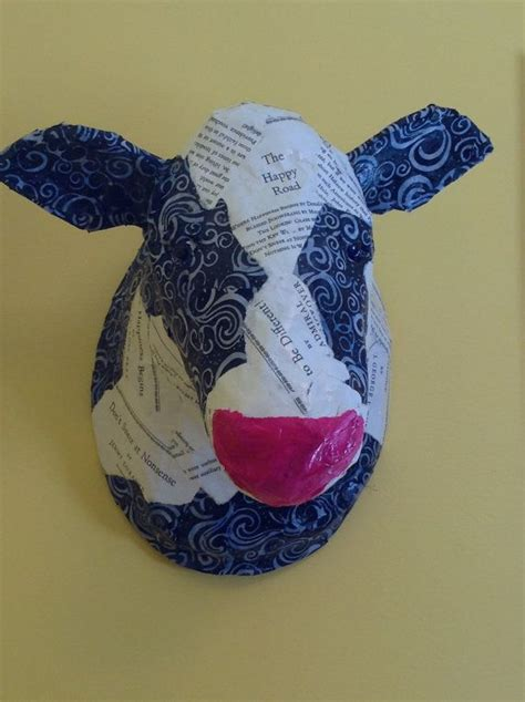 How To Make A Paper Mache Cow - 96 best and folk images on