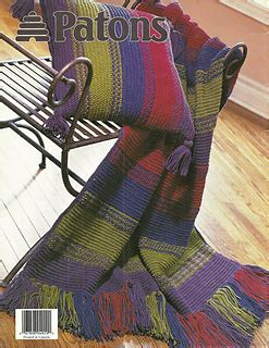 patons pattern library ravelry woven look blanket pattern by patons