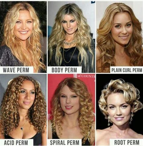 how many kinds of spiral perms is there love the wave and plain curl chemical texturizing