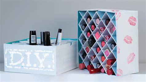 D I Y by Diy Makeup Aufbewahrung Lippenstift Box Deko Youtube
