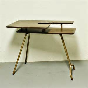 vintage sewing table sewing machine table sp d 3 wood