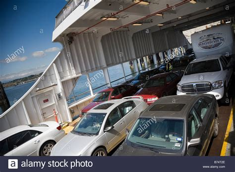 Car Wash Port Townsend by Vehicles Loaded Inside A Car Ferry Port Townsend Ferry Keystone Stock Photo Royalty Free Image