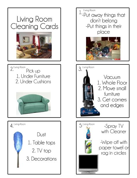free room in exchange for housework chore cards chore flip charts tips from a typical