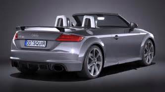 Audi Tt Models Audi Tt Rs Roadster 2017 Squir
