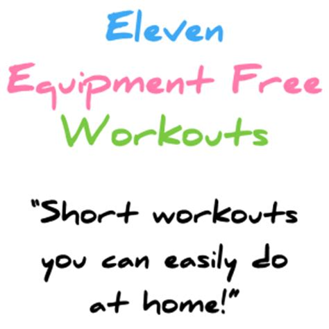 11 burning equipment free workouts joefitness