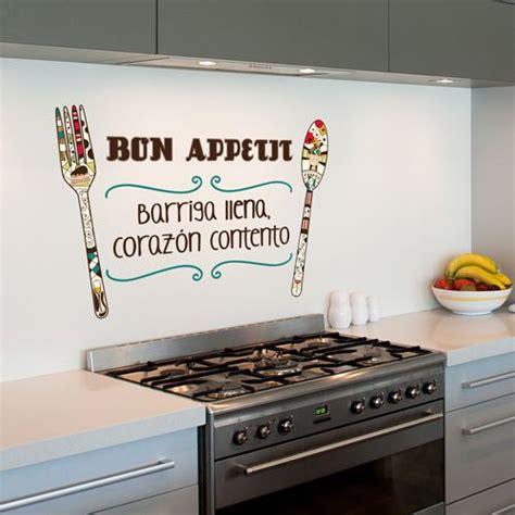 Wall Mural Decals Cheap vinilo decorativo para colocar en la cocina con la frase