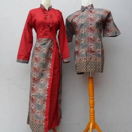 Baju Muslim Sarimbit Moderen 10 contoh baju muslim batik modern 2018