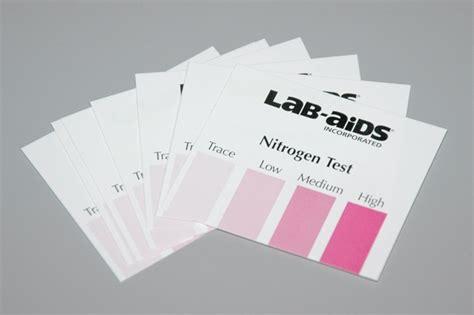 what color is nitrogen nitrogen color chart